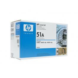 Hewlett Packard Toner Laser 51A Negro  Q7551A