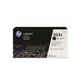 Hewlett Packard Toner Laser 504X Negro Pack 2  Ce250Xd