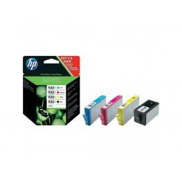 Hewlett Packard Cartuchos Inyeccion 920 Xl Negro/amarillo/cyan/magenta Pack 4  C2N92Ae