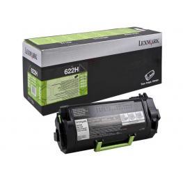 Lexmark Toner Laser 622 Negro  62D2000