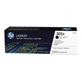 Hewlett Packard Toner Laser 305X Negro Pack 2  Ce410Xd