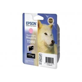 Epson Cartucho Inyeccion T0966 Magenta Claro Vivo Blister C13T09664010