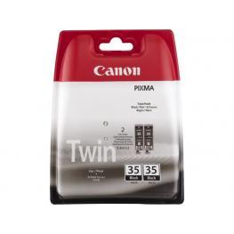 Canon Cartucho Inyeccion Pgi-35Bk Negro Blister Pack 2 1509B012