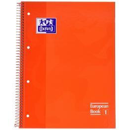 Oxford Cuaderno 80H A4 Cuadricula 5X5 Naranja 400040982