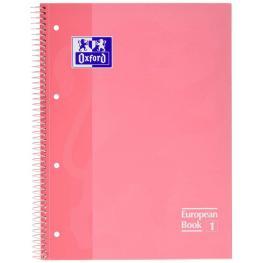 Oxford Cuaderno 80H A4 Cuadricula 5X5 Rosa 400040984