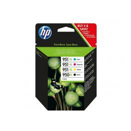 Hewlett Packard Cartucho de Inyeccion 950Xl + 951Xl Negro/cyan/amarillo/magenta Pack 1 400Ml C2P43Ae