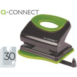 Taladrador Q-Connect Kf00996 Metalico Con Empuñadura de Caucho Capacidad 30 Hojas