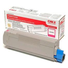 Oki Toner Laser  Magenta  43324422