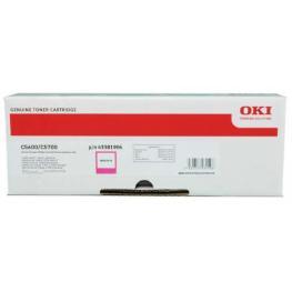 Oki Toner Laser  Magenta  43381906