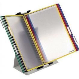 Tarifold Clasificadores Sobremesa Sm 10 Fundas A4 Colores Surtidos Metal 434109