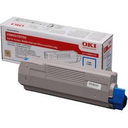 Oki Toner Laser  Cyan  43865723