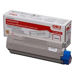 Oki Toner Laser C5650 Magenta 2.000 Pg  43872306