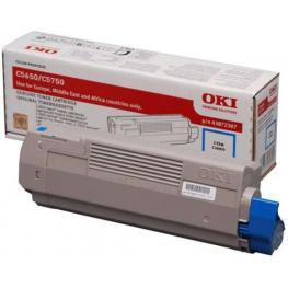 Oki Toner Laser 43872307 Cyan  43872307
