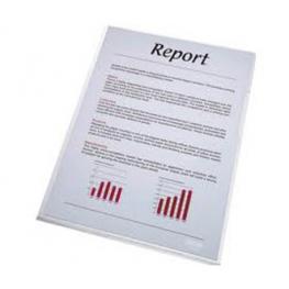 Esselte Dossier Caja 100 Ud Folio Polipropileno Con Uñero Transparente 46015