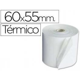 Fabrisa Rollo de Papel Termico Para Sumadora Ext. 55 Mm Ancho 60 Mm Mandril 12 Mm. 4605511