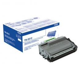 Brother Toner Laser Negro 12000 Paginas Tn-3512Bk