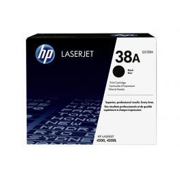Hewlett Packard Toner Laser 38A Negro  Q1338A