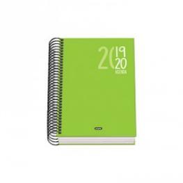 Dohe Agenda Escolar Sigma Dia/pagina A-6 Verde 50805