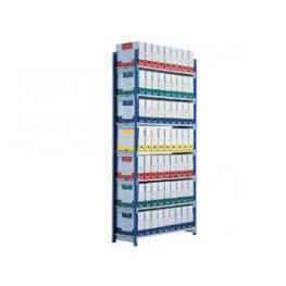 Paperflow Estanteria Rangeco 2000X1000X350Mm 5 Niveles Metalica 513D