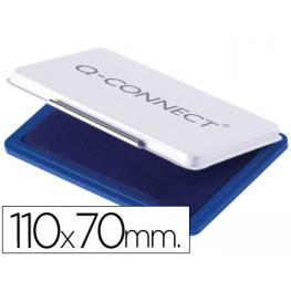 Tampon Q-Connect 110X70 Mm Azul