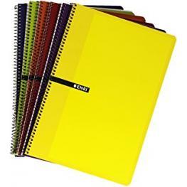 Enri Cuaderno 80H 4º Cuadricula 4X4 Surtido