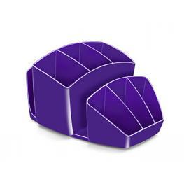 Organizador Sobremesa Cep 8 Compartimentos Plastico Violeta 143X158X93 Mm 1005800321