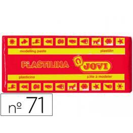 Plastilina Jovi 150 Gr. Rojo 71/05