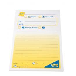 Post-It Notas Adhesivas Imrpesas 50H Mensaje Telefónico 102X149Mm Ft600003626