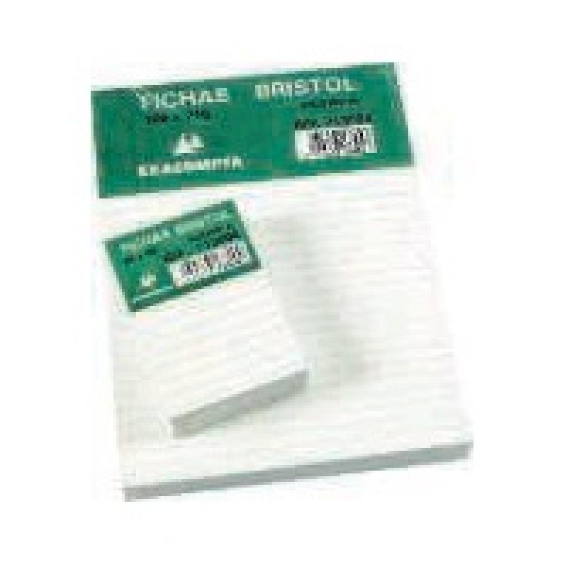 Exacompta Ficheros Caja 100 Ud 100X150 Horizontal 10802X