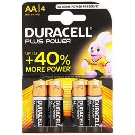 Duracell Pilas Alcalinas  Pack 4 Ud Aa Lr6 75038386