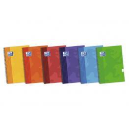 Oxford Cuaderno School 80H 4º Cuadricula 4X4 Surtido 100430151