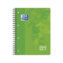 Oxford Cuaderno Polipropileno School 120H A4 Cuadricula 5X5 Surtido 100430193