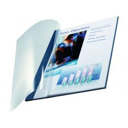 Leitz Cubiertas Encuadernación Impressbind Caja 10 Ud Azul A4 Lino 73990035