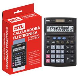 Calculadora Grande 12 Digitos Mtl 79131