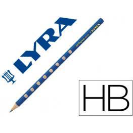 Lapices de Grafito Lyra Groove Slim Mina Hb