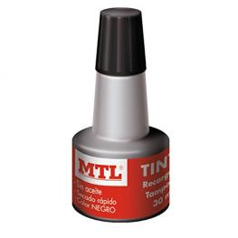 Mtl Frasco Tinta Sellar Negro 30 Ml
