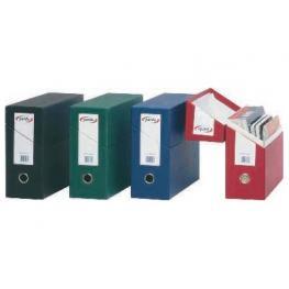 Pardo Caja Transferencia 270 X 390 X 110Mm Azul Archivador Apaisado Doble Refuerzo 245703