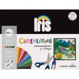 Guarro Pack 10H Cartulina Iris A4 185Gr Surtido 200406282