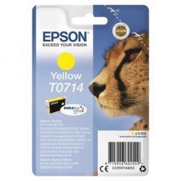 Epson Cartucho Inyección Amarill 5,5Ml T071 Stylus D92/d120/dx4Xxx/dx5Xxx/dx6Xxx/dx7Xxx C13T07144012