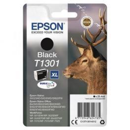 Epson Cartucho Inyección Negro 25,4Ml T130 Stylus Sx525Wd/535Wd/620Fw/b42Wd/bx5Xx/6Xx C13T13014012