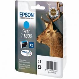 Epson Cartucho Inyección Cián 10,1Ml T130 Stylus Sx525Wd/535Wd/620Fw/b42Wd/bx5Xx/6Xx C13T13024012