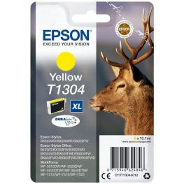 Epson Cartucho Inyección Amarillo 10,1Ml T130 Stylus Sx525Wd/535Wd/620Fw/b42Wd/bx5Xx/6Xx C13T1304401