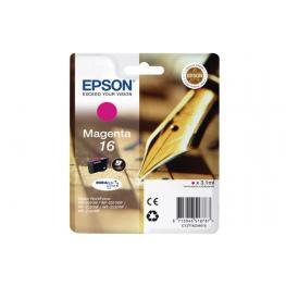 Epson Cartucho Inkjet Magenta Durabrite 16 165P Wf-20Xx/25Xx/26Xx C13T16234012