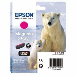 Epson Cartucho Inyección Magenta 9,7Ml 700 Páginas 26Xl Xp-600/605/700/800 C13T26334012