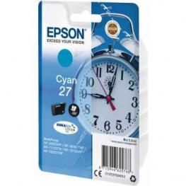Epson Cartucho Inyección 27 Cián 3,6 Ml 300 Páginas