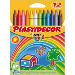 Bic Plastidecor Estuche 12 Ud Colores Surtidos Div Colores 875770