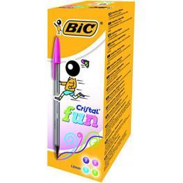 Bic Boligrafo Cristal Fashion Colores Surtidos Trazo 0,6 Mm 895793
