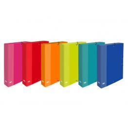 Elba Carpeta de Proyectos Cartón Forrado Papel 3 Slp Elba Color Fº Lomo 40 Surtidos 400087187