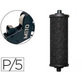 Pack 5 Rodillos Entintador Meto Trovel Compact 9294071
