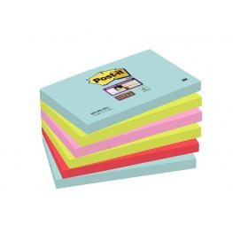Post-It Pack.6 Bloc 76X127 Miami 70005291631